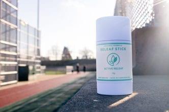 Active Releaf Wellness Menu CBD Releaf Relief Stick Product Full Spectrum Cannibinoid